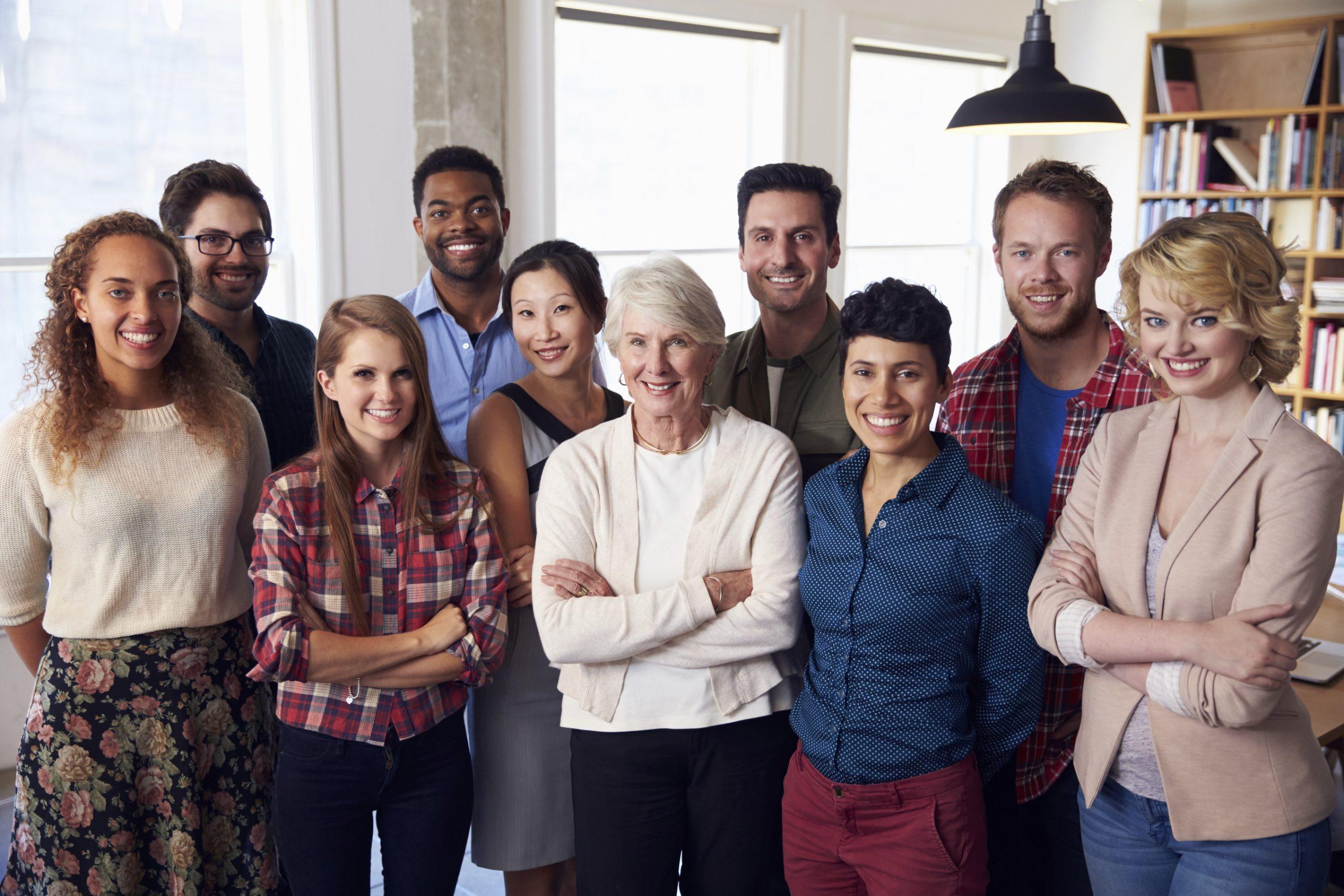 Multi gen co workers